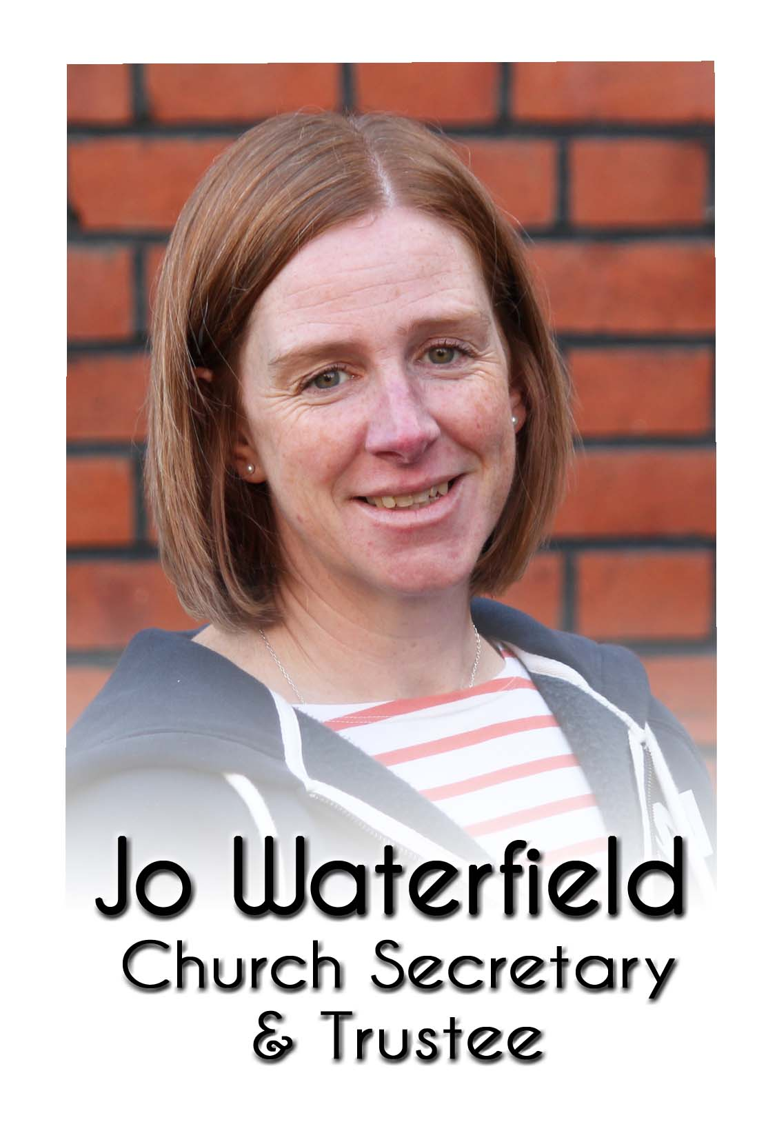 Jo Waterfield labelled